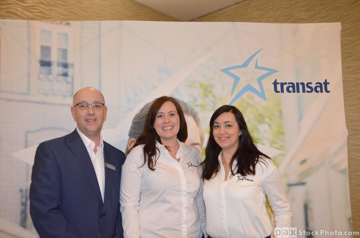 Transat's 2018 Europe Training Academy in Calgary - Feb. 15, 2018
