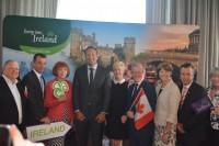 Irish P.M. visits Toronto