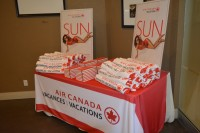 Air Canada Vacations Sun brochure launch, Vaughan - Sept. 2017