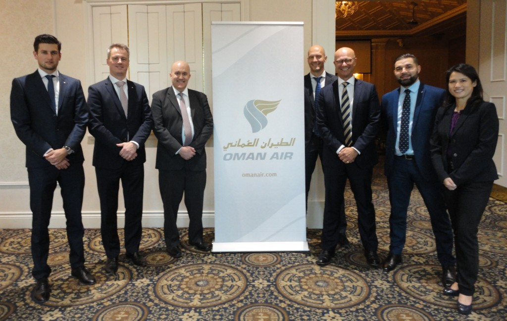 Oman Air event, Markham - Oct. 2017