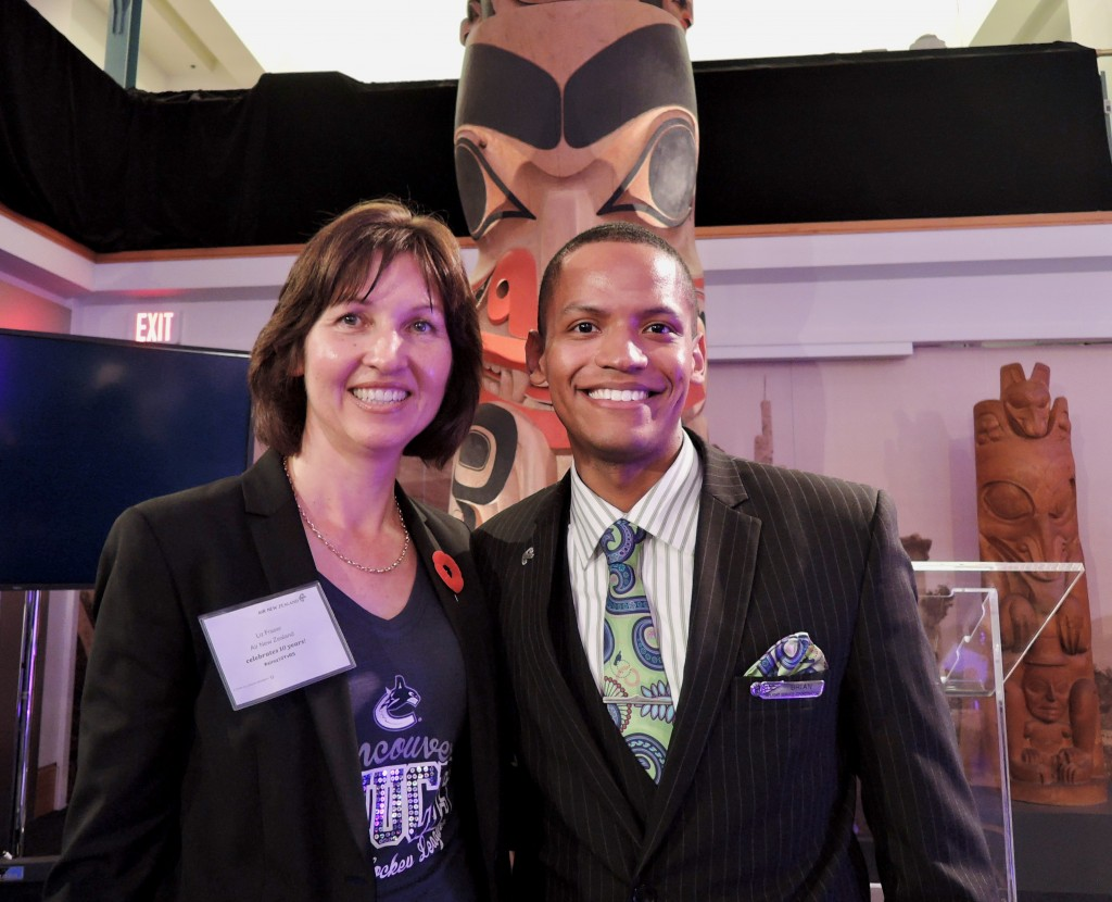 Air New Zealand celebrates 10 Years At YVR