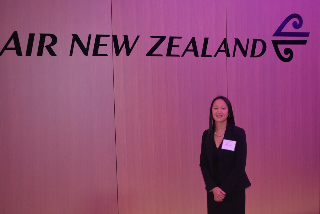 Air New Zealand event, Toronto - Nov. 2017