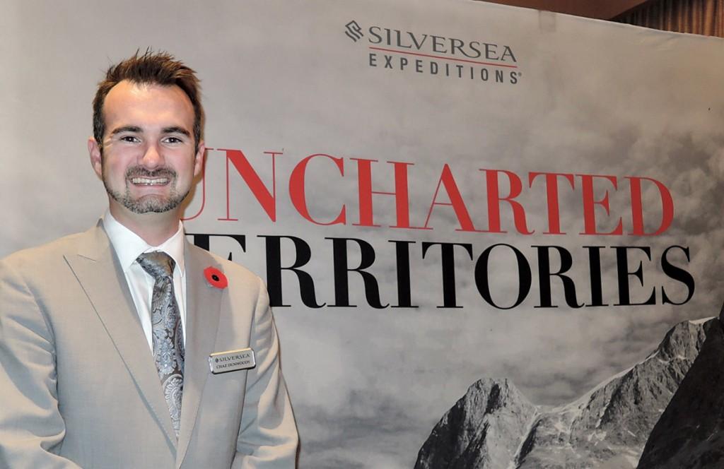 Silversea Cruises in Vancouver - Nov. 15, 2017