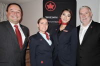 Air Canada holiday reception in Vancouver - Nov. 30, 2017
