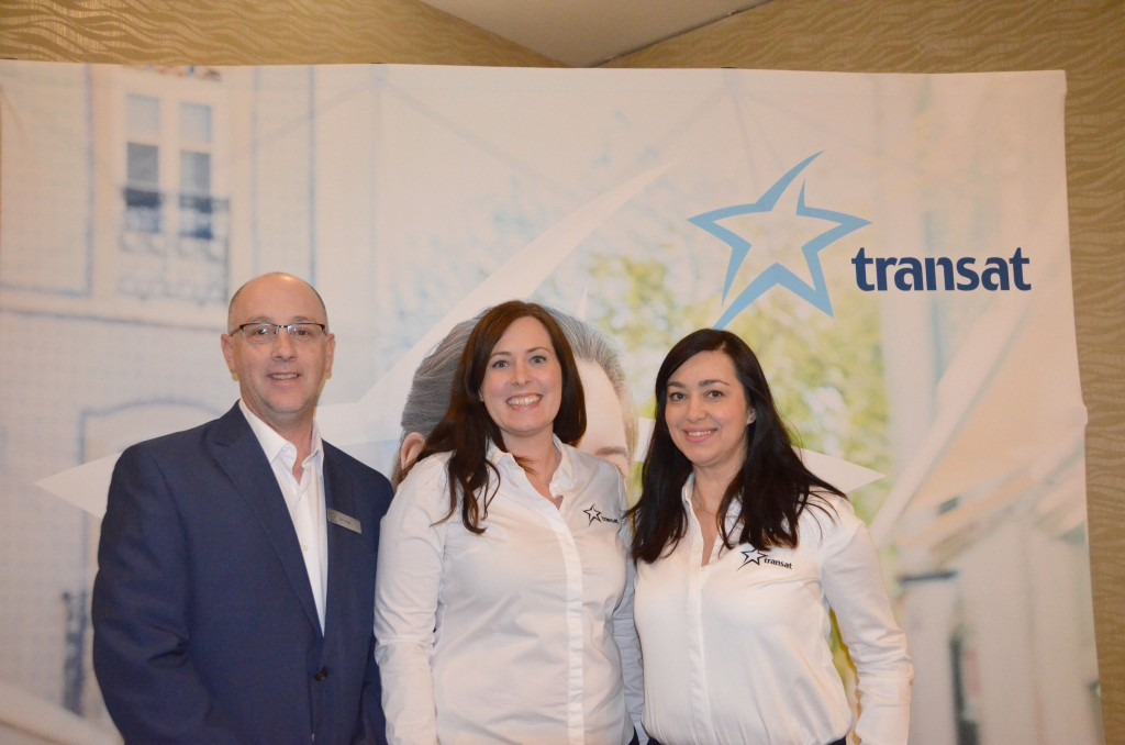 Transat's 2018 Europe Training Academy in Calgary - Feb. 15, 2018