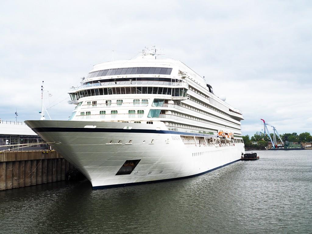 PAX visite le Viking Sea au port de Montréal