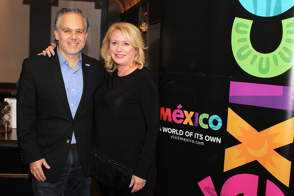 Mexico Tourism Board holiday cocktail (December 2018)